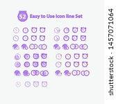 bundle icon clock icon set...