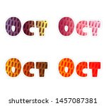 hand drawn typography lettering ... | Shutterstock .eps vector #1457087381