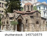 the church of panaghia... | Shutterstock . vector #145710575