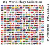 world flags collection official ... | Shutterstock .eps vector #1457133131