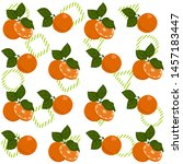 seamless vector pattern with... | Shutterstock .eps vector #1457183447