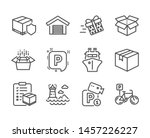 set of transportation icons ... | Shutterstock .eps vector #1457226227