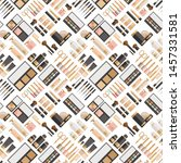 seamless pattern of different... | Shutterstock .eps vector #1457331581
