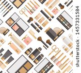 seamless pattern of different... | Shutterstock .eps vector #1457331584