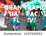 grand rapids  michigan  usa  ... | Shutterstock . vector #1457345051