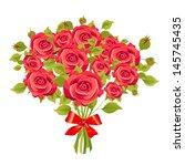 flowers bouquet | Shutterstock . vector #145745435