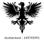 eagle heraldic | Shutterstock .eps vector #145745591