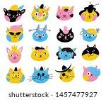 set of different vector...   Shutterstock .eps vector #1457477927