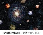 vector abstract illustration of ... | Shutterstock .eps vector #1457498411