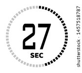 the 27 second countdown timer...