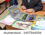 st. petersburg  russia sep 1 ...   Shutterstock . vector #1457564534