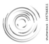 radial speed lines in circle... | Shutterstock .eps vector #1457568311