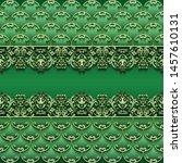abstract vector ornamental... | Shutterstock .eps vector #1457610131