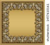abstract vector ornamental... | Shutterstock .eps vector #1457610161