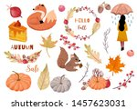 Autumn Object Collection With...