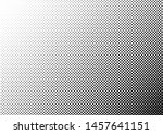 distressed dots background.... | Shutterstock .eps vector #1457641151