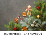 Christmas Tree Branches And...