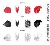 vector design of fiber and... | Shutterstock .eps vector #1457700401