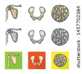 vector design of medicine and... | Shutterstock .eps vector #1457702384
