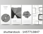 the minimalistic vector... | Shutterstock .eps vector #1457713847