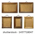 Set Of Three Vintage Golden...