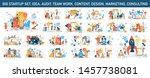 big business web banner concept ... | Shutterstock .eps vector #1457738081