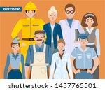 career growth  employment ... | Shutterstock .eps vector #1457765501