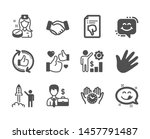 set of people icons  such as... | Shutterstock .eps vector #1457791487