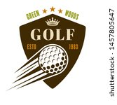 Golf Vector Shield Emblem ...