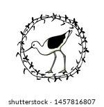 vector illustration of hand... | Shutterstock .eps vector #1457816807