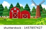 natural environment scenes... | Shutterstock .eps vector #1457857427