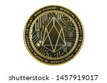 back side of the crypto... | Shutterstock . vector #1457919017