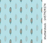 seamless pattern print with... | Shutterstock . vector #1457929274