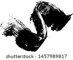 vector brush sroke texture....   Shutterstock .eps vector #1457989817