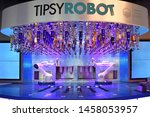 Small photo of The Tipsy Robot at Planet Hollywood, Las Vegas NV, USA 10- 03-18 The robots replace the bartenders with an extensive collection of drinks to choose