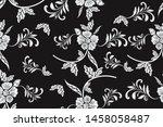 batik indonesian  seamless... | Shutterstock .eps vector #1458058487