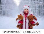 Smiling  Beautiful Child In A...