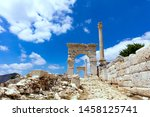 The View Of Upper Agora In The...
