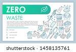 zero waste web banner  business ...