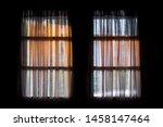Silhouette Of The Door Frame.
