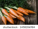 Fresh Homegrown Carrots On...