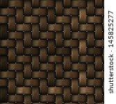 Wooden Basket Background