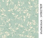seamless floral pattern on...
