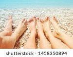 female  children's and male... | Shutterstock . vector #1458350894