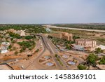 Panaromic View Of Niamey City...