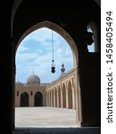 Small photo of Cairo/Egypt - April 29, 2008: the breathtaking mosque of Ahmed Ibn Tulun, one of the most sober and beautiful of the Egyptian capital.