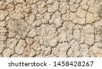 Cracked Dry Earth From Drought