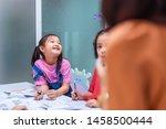asian elementary school... | Shutterstock . vector #1458500444