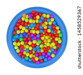 many colorful plastic balls... | Shutterstock . vector #1458529367