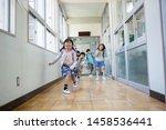 elementary school student... | Shutterstock . vector #1458536441